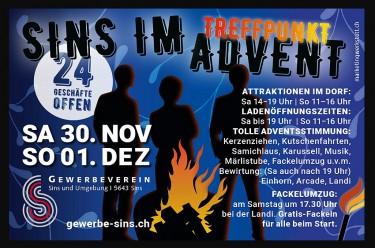 Sins im Advent!! .......Galerie: Glashaus-Events Herbst 2019